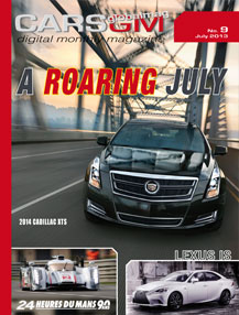 cars gm magazine cover july 2013