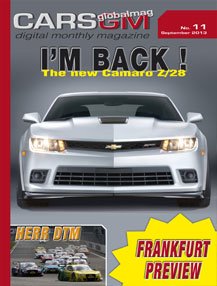 cars gm magazine cover september 2013