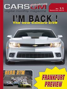 cars gm magazine cover september 2013