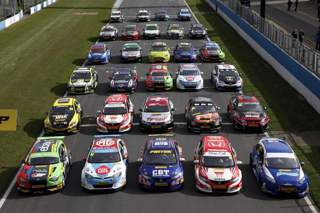 BTCC 2014 grid