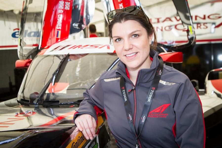 Katherine Legge and DeltaWing