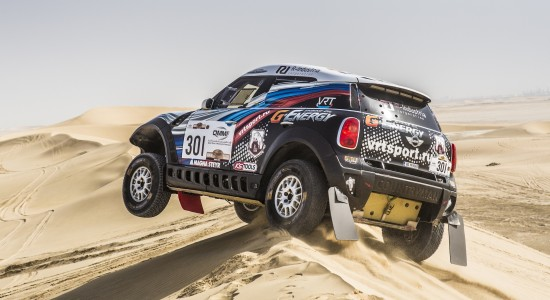 MINI Qatar Rally