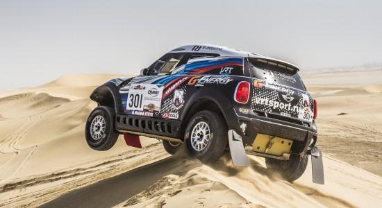 MINI Qatar Rally