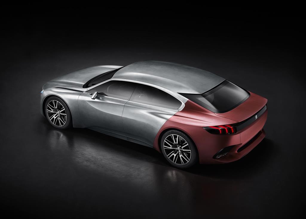Peugeot Exalt rear