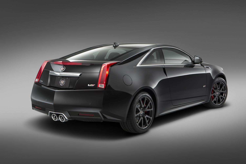 2015 Cadillac CTS-V Coupe rear
