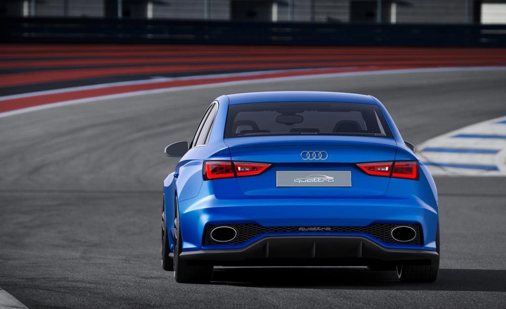 Audi A3 clubsport quattro concept rear