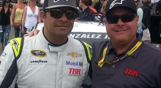 Victor Gonzalez Jr. and Joe Lax (Credits: VGJL Motorsports)