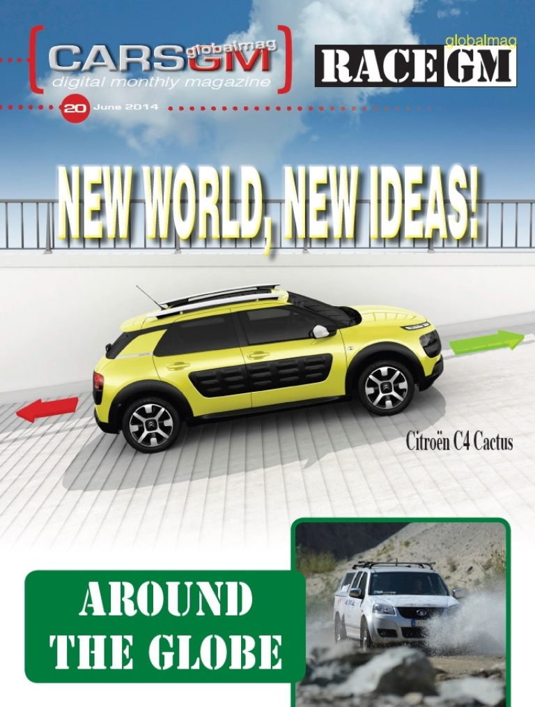 CARS GLOBALMAG June 2014