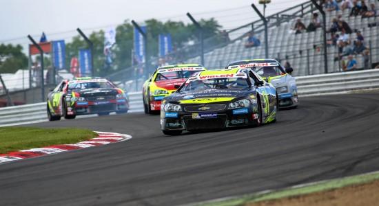 Eddie Cheever winner at Brands Hatch (Photo Credit: NASCAR Whelen Euro Series / Stephane Azemard)