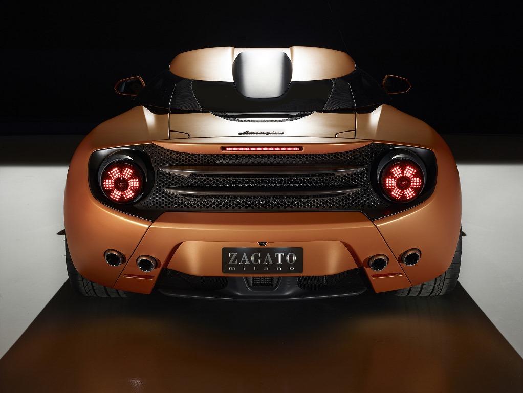 Lamborghini 5-95 Zagato rear