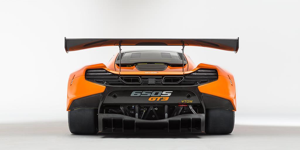 McLaren 650S GT3 rear