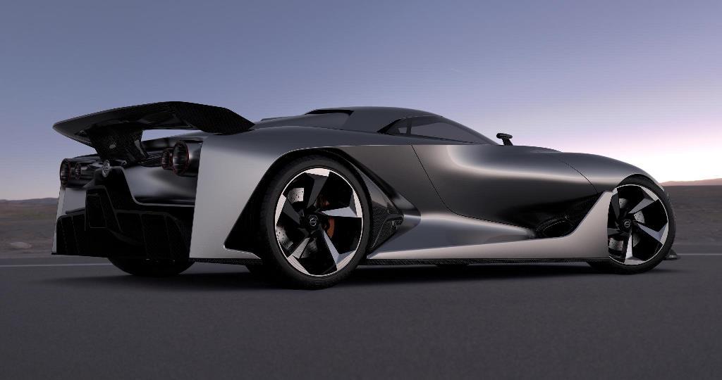 Nissan Concept 2020 rear