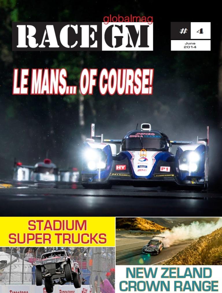 RACE GLOBALMAG June 2014