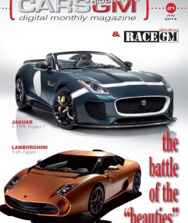 CARS GLOBALMAG cover July 2014