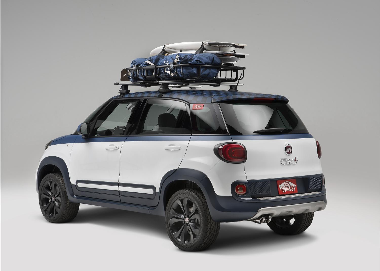 Fiat 500L Vans rear
