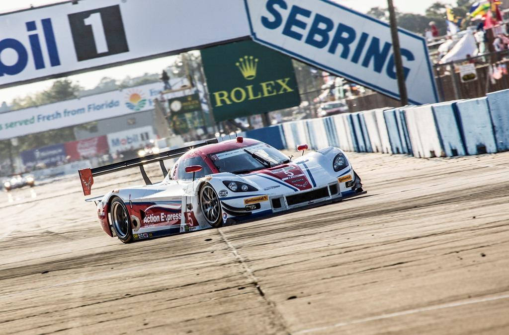 No. 5 Action Express Racing Corvette DP (credit: Rolex / Stephan Cooper)