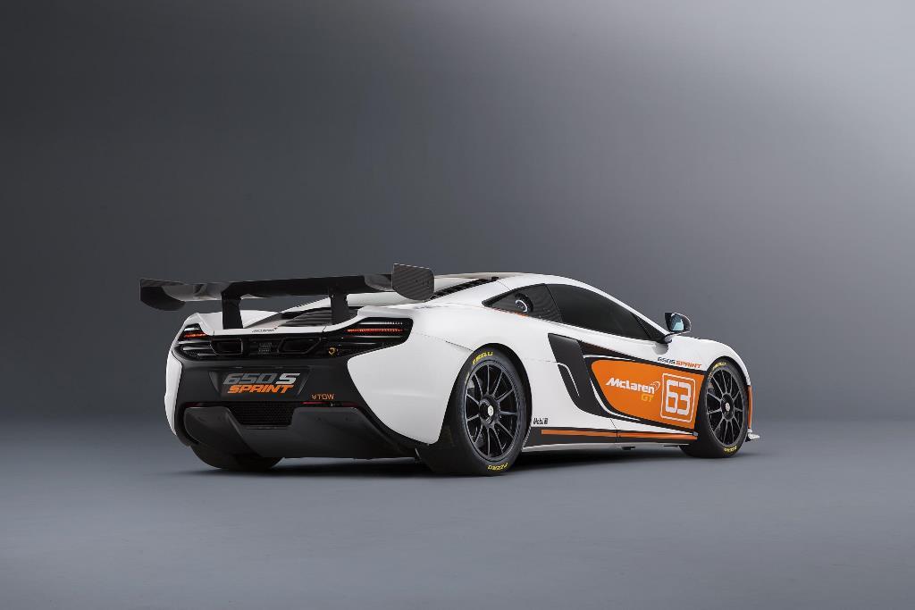 McLaren 650S Sprint rear