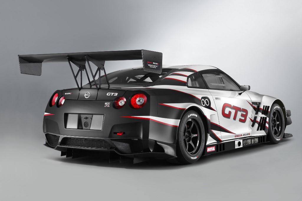 Nissan GT-R NISMO GT3 rear