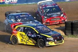 Tanner Foust, Rhys Millen and Nelson Piquet Jr.