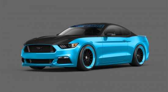 Petty's Garage Ford Mustang