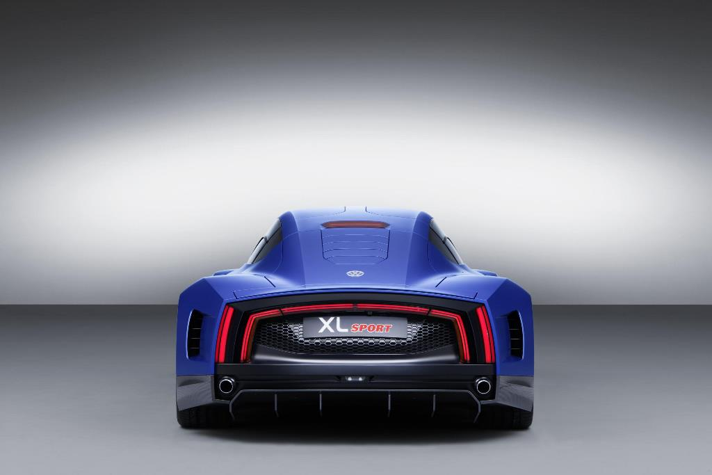 Volkswagen XL Sport concept rear