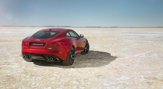 New Jaguar F-TYPE R Coupe