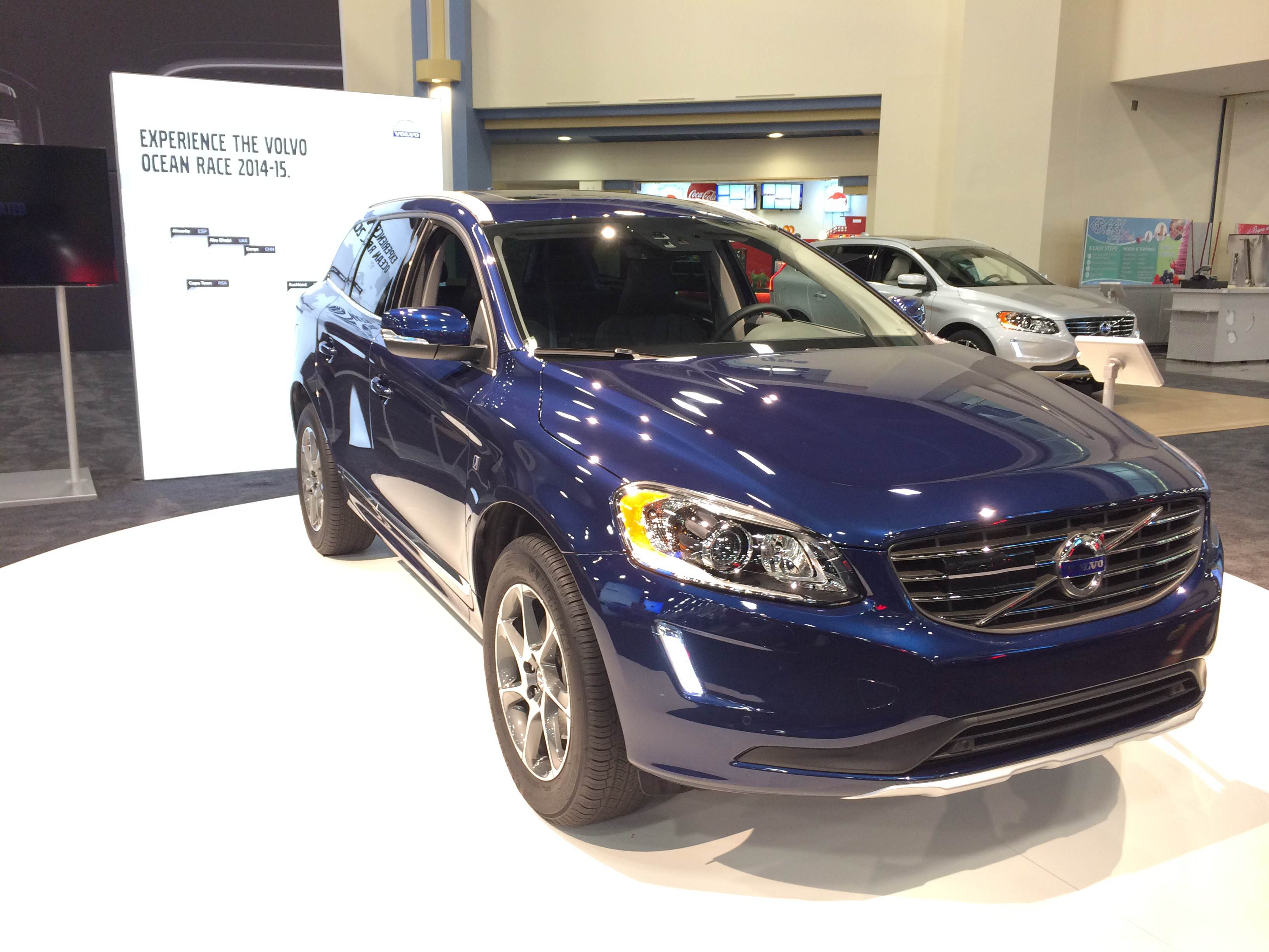 The Volvo Ocean Race XC60 at the Miami International Auto Show