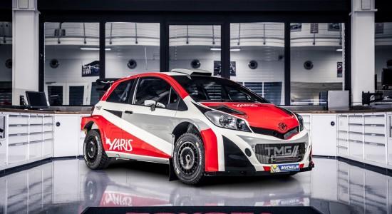 Toyota Yaris WRC revealed