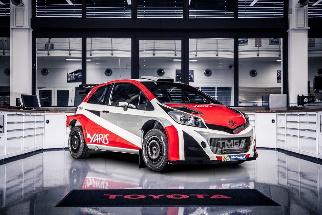 Toyota Yaris WRC revealed