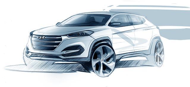 Hyundai Tucson Sketch