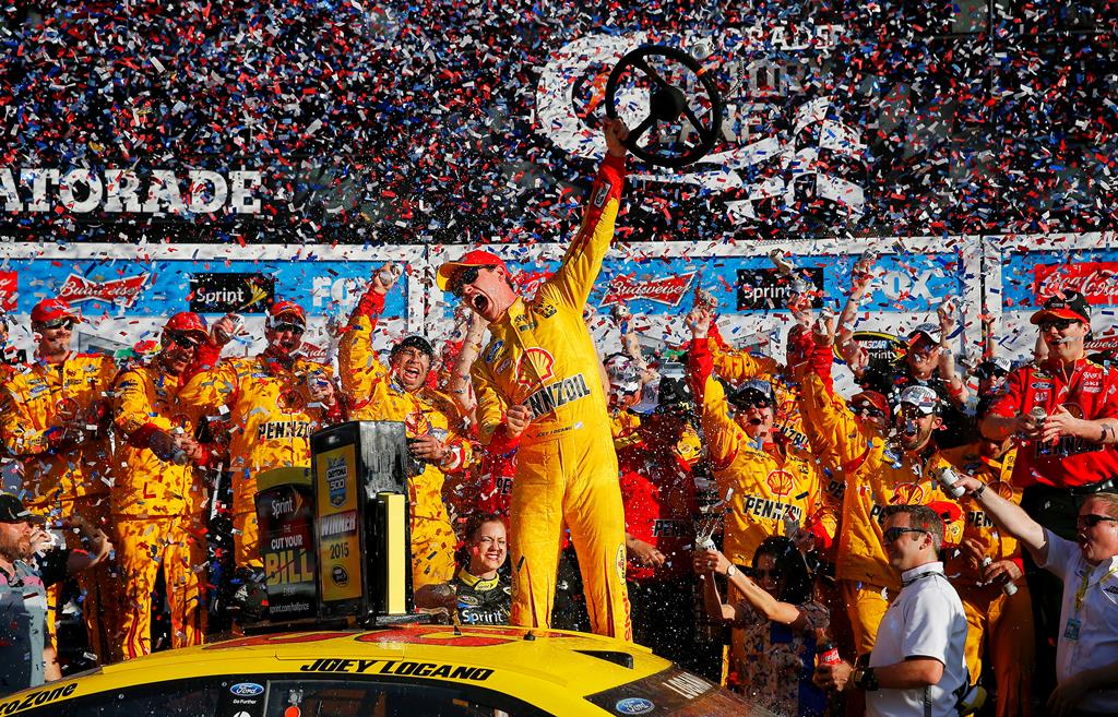 Joey Logano wins the Daytona 500