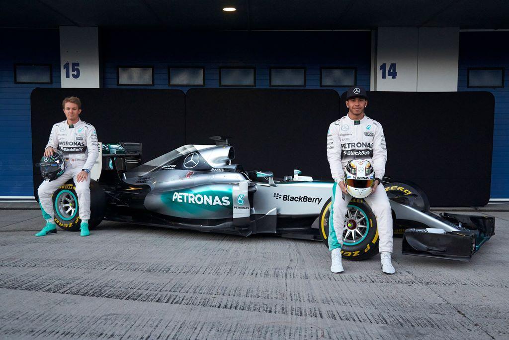 Hamilton, Mercedes F1 W06 Hybrid