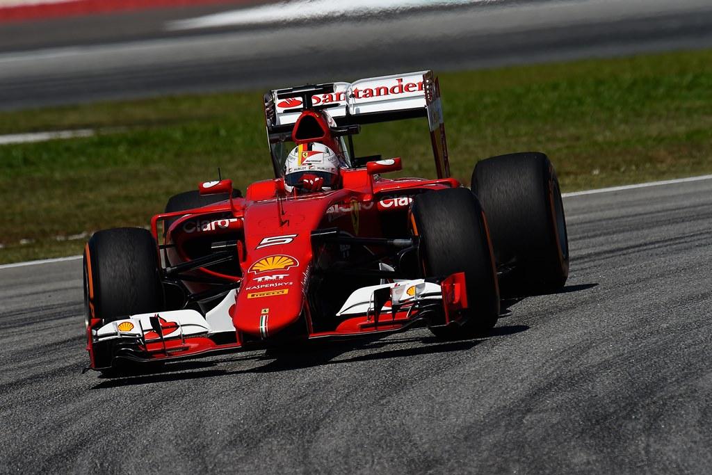 Seb Vettel Ferrari