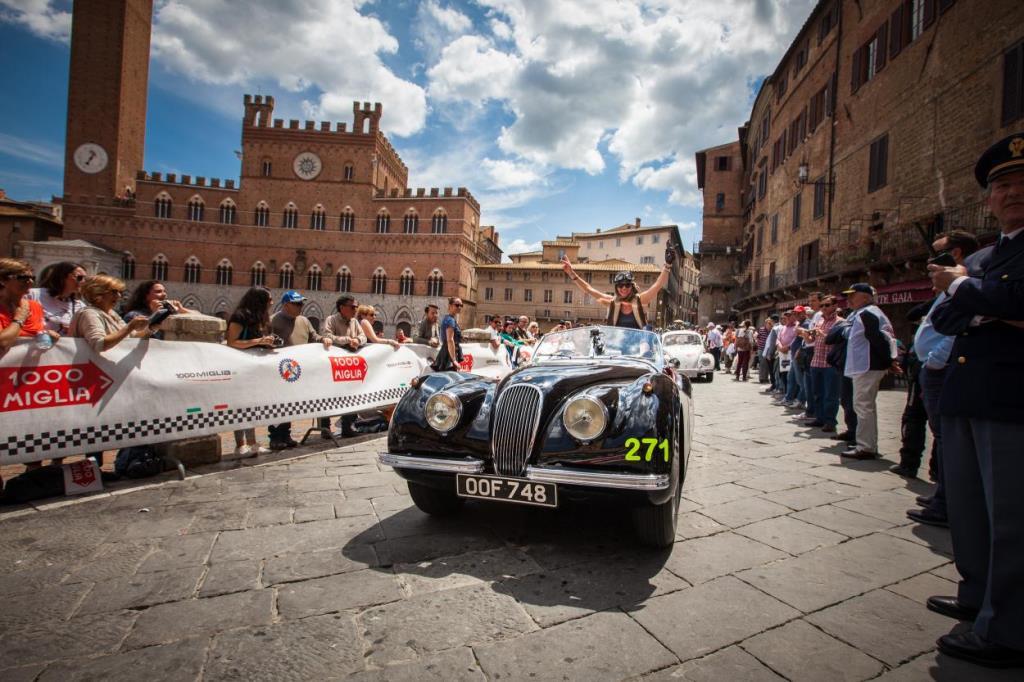 Jaguar Mille Miglia Siena
