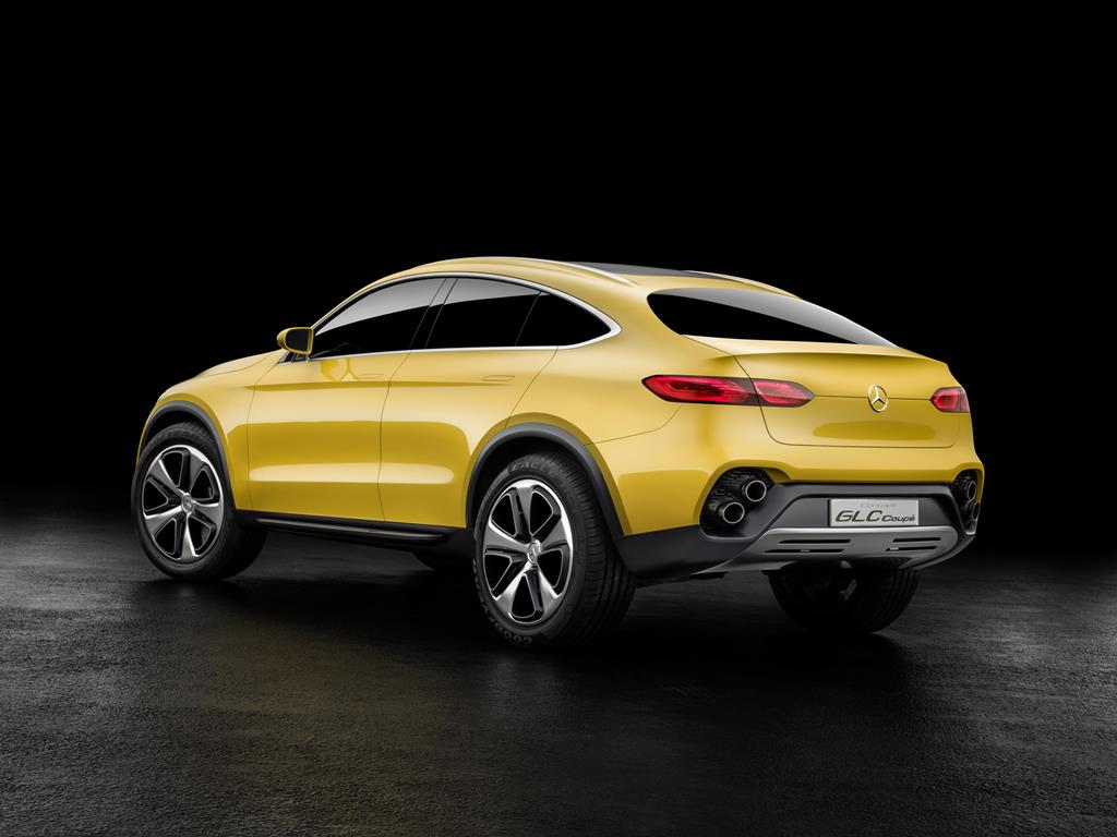 Mercedes Concept GLC Coupe rear