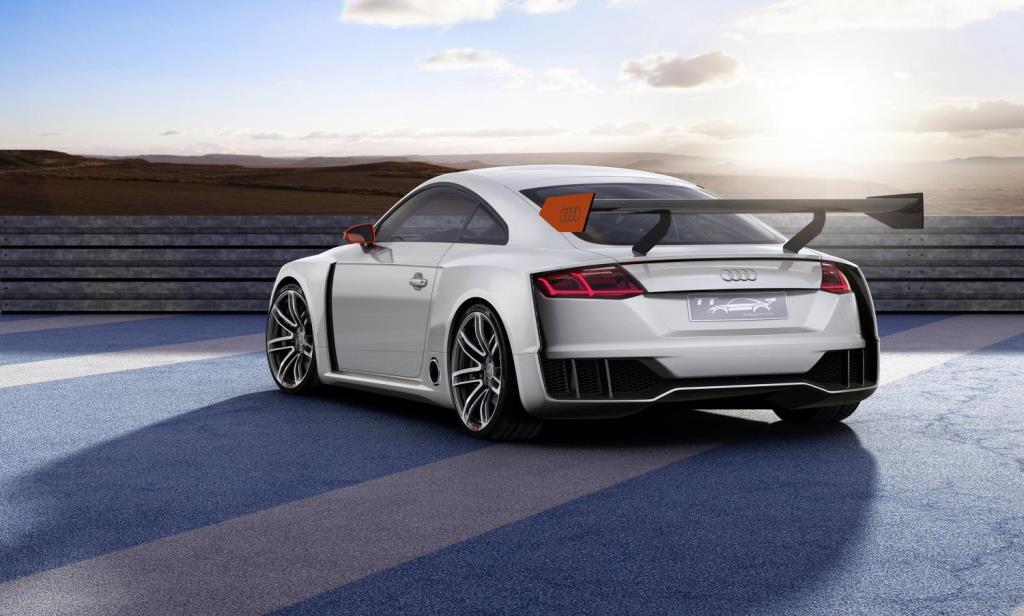 Audi TT clubsport rear