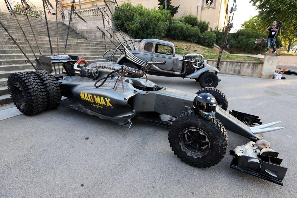 Lotus F1 Mad Max Barcelona