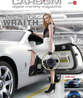 CARS GLOBALMAG June 2015 cover