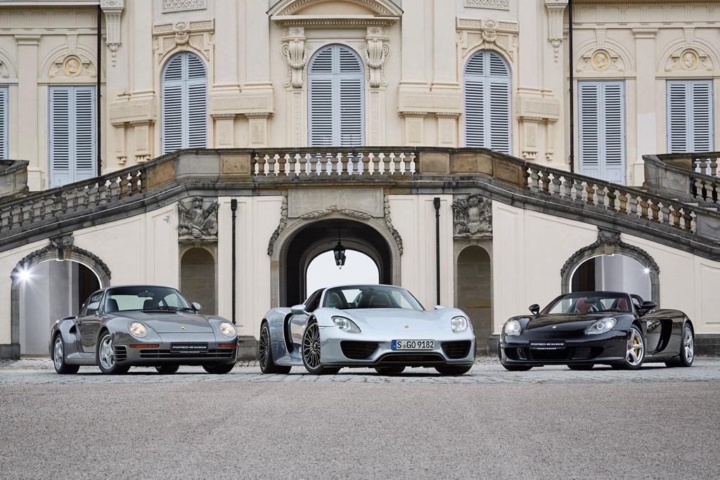 Porsche 959, 918, Carrera GT