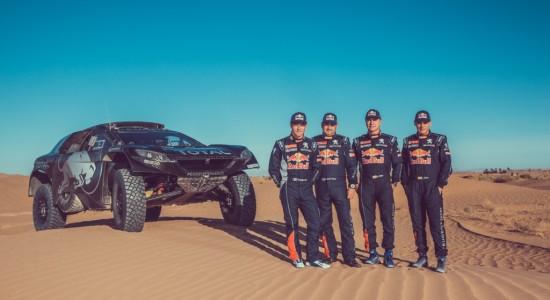 Peugeot 2008 DKR team