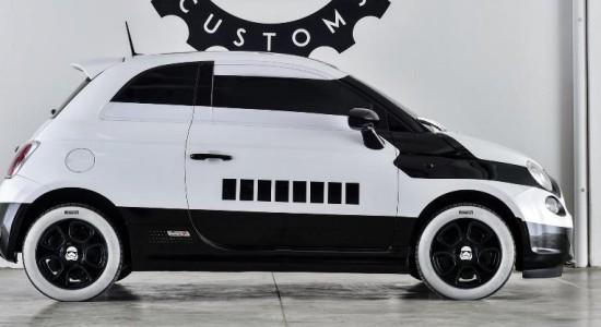 Fiat 500 stormtrooper