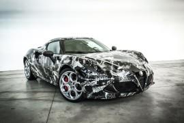 Alfa Romeo 4C Deadly Snake