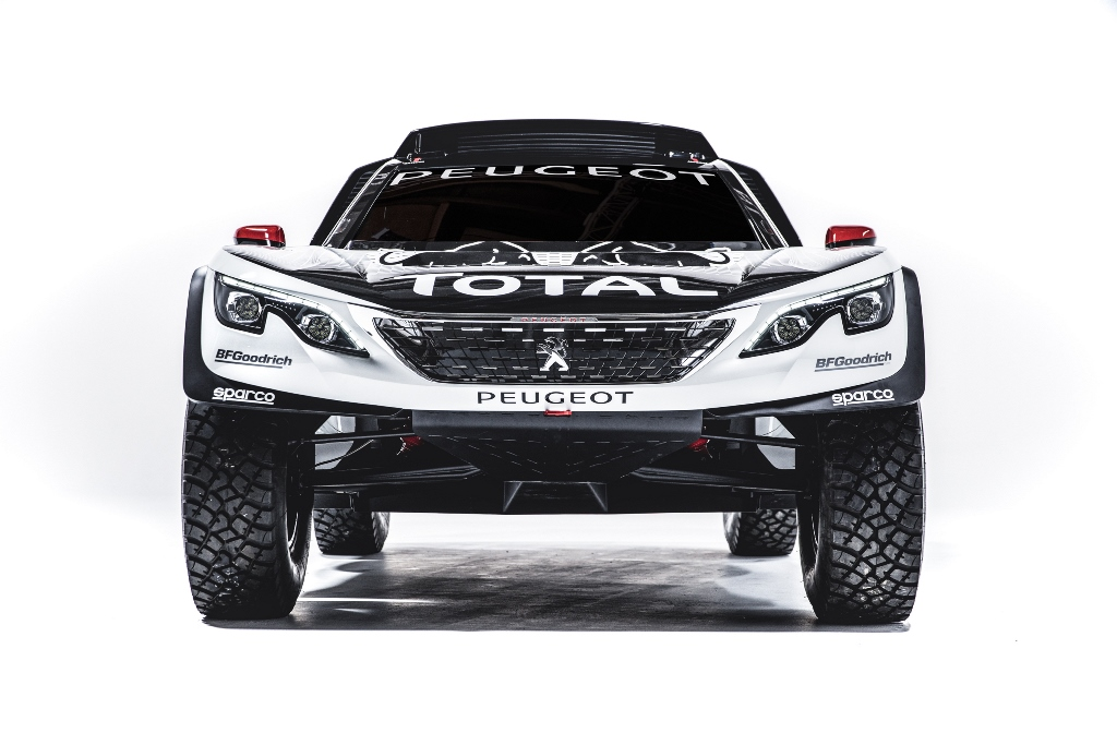 Peugeot 3008 DKR front