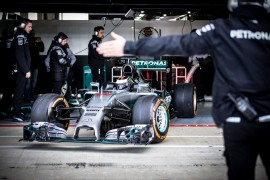 Jorge Lorenzo test Mercedes